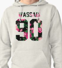 Alex Wassabi - Colored Flowers Pullover Hoodie