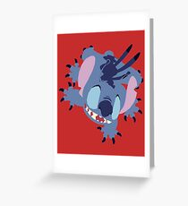 That Blue Alien Guy  Greeting Card