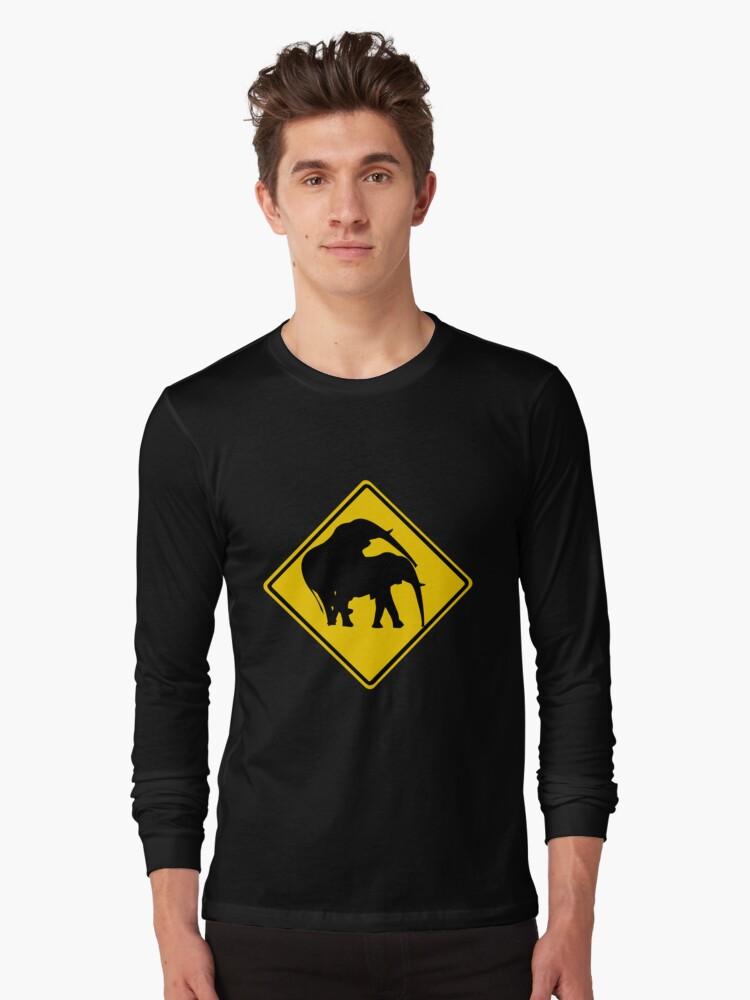 ELEPHANT MATE ROAD SIGN by SofiaYoushi