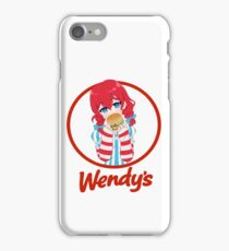 Wendy's Girl 2 iPhone Case/Skin
