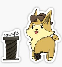 Indiana Bones Sticker