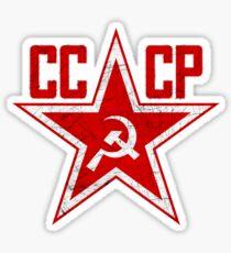 Russian Soviet Red Star CCCP Sticker