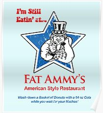 American Style Restaurant (Arrested Development) Poster