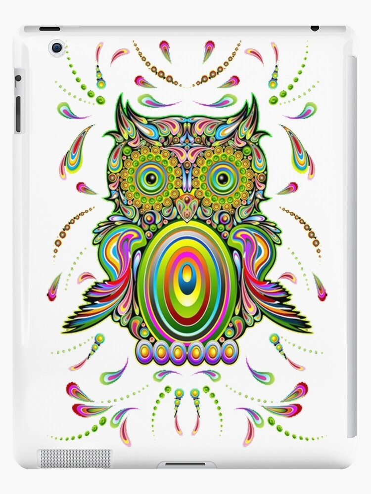 Owl Psychedelic by Special T-Shirts