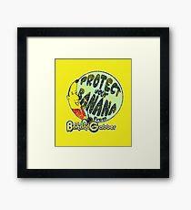 Mister Banana Grabber (Arrested Development) Framed Print