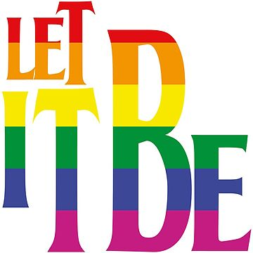 LET IT BE PRIDE de refritomix
