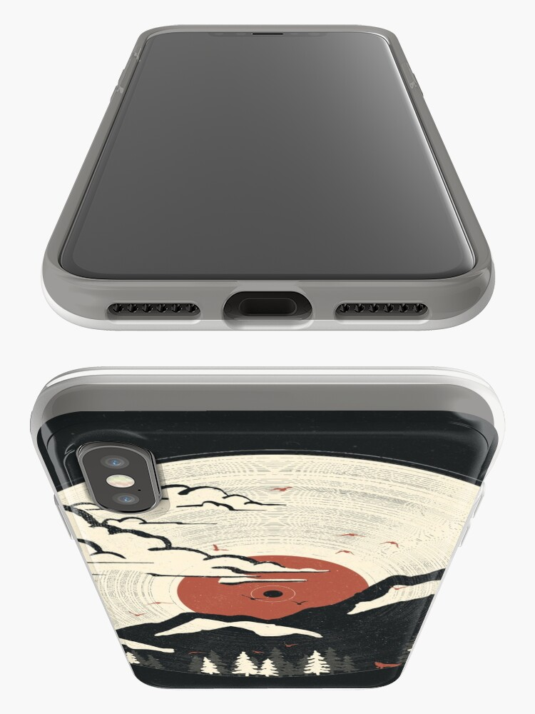 Alternate view of MTN LP... iPhone Cases & Covers