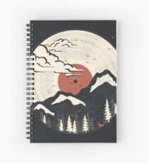 MTN LP... Spiral Notebook