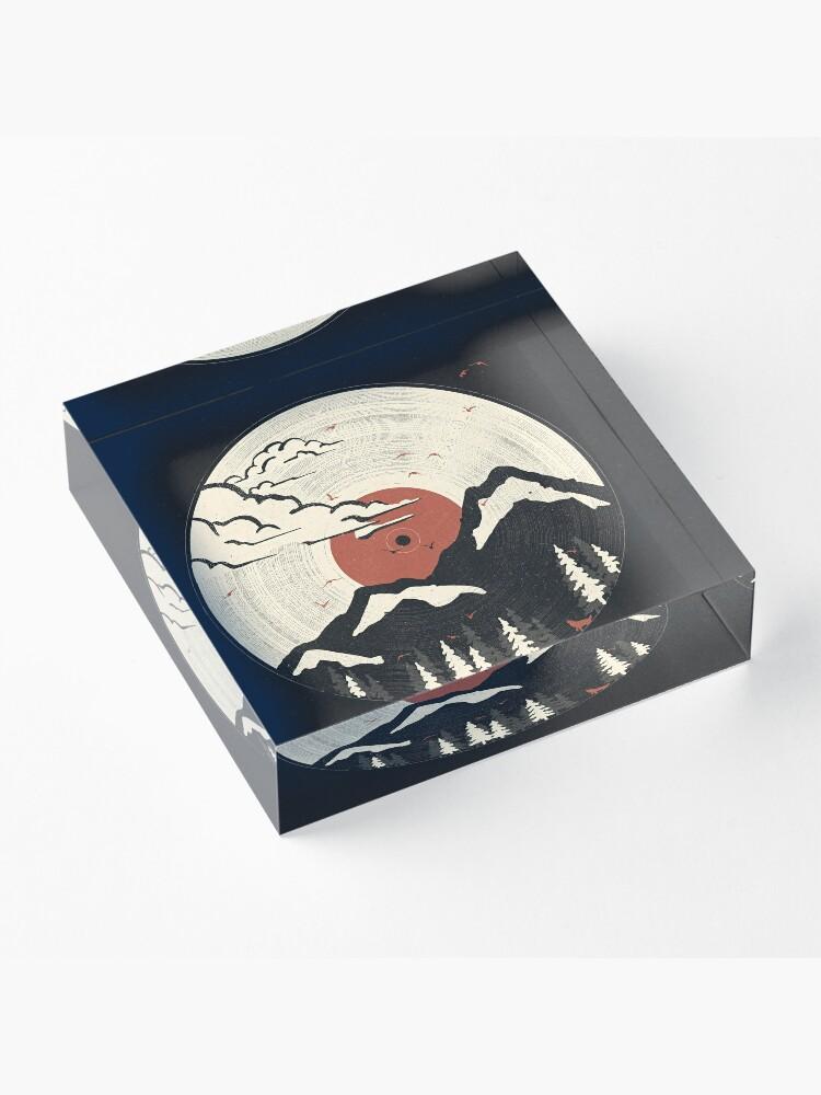 Alternate view of MTN LP... Acrylic Block