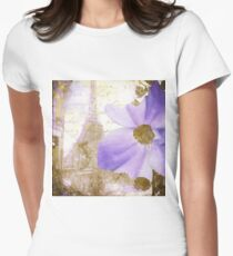 Purple Paris I Womens Fitted T-Shirt