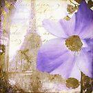 Purple Paris I by mindydidit