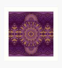 Mandala Echo Art Print
