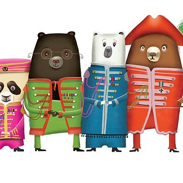 Sgt Pepper's Lonely Hearts Club Bears by shanemcg