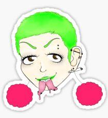 Punk Weirdo Sticker