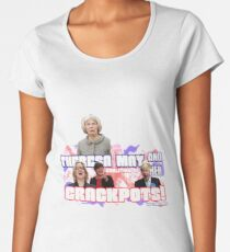 Theresa May and her Coalition of Crackpots Women's Premium T-Shirt