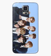 BTS Kpop - Blau Hülle & Klebefolie für Samsung Galaxy