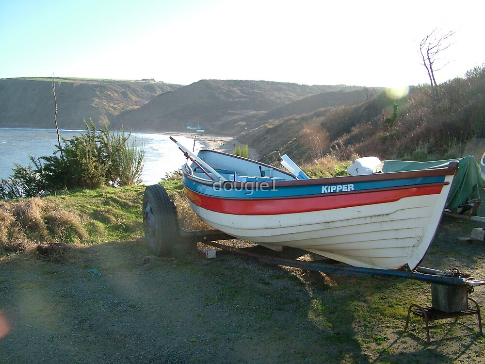Fishing boat at Runswick Bay by dougie1