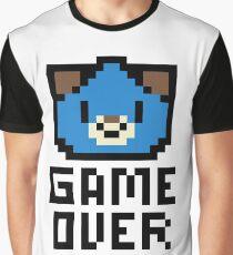Game Over Hyperdimension Neptunia Dogoo Pixel Art Graphic T-Shirt