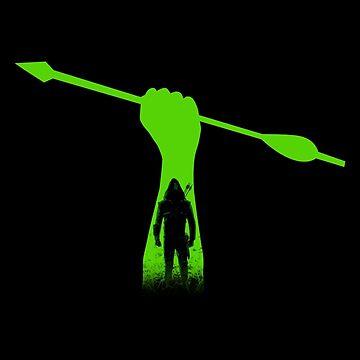 Green hero by SxedioStudio
