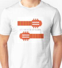Guitar sound of music Unisex T-Shirt