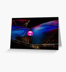 Sydney Opera House Goes Vivid 01 Greeting Card