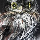 Tawny Frogmouth (Not an Owl!) by Leonie Chinn