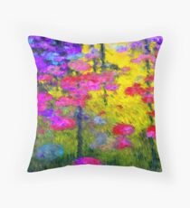Water Lily's Two Throw Pillow