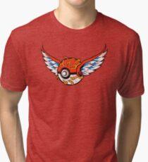 Poke Tattoo Tri-blend T-Shirt