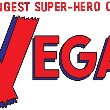 The Vegan — The Strangest Super-Hero of All! by mumblingmynah