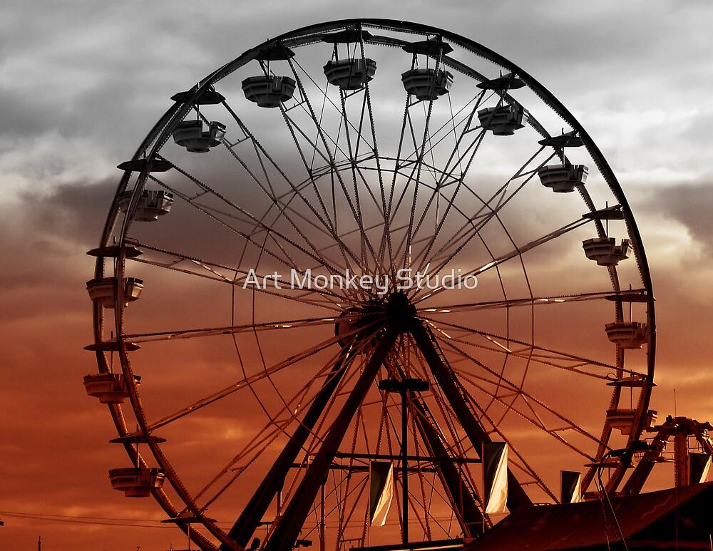 Ferris Wheel by Dan Perez