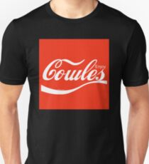 Enjoy Cowles - Red Square Unisex T-Shirt
