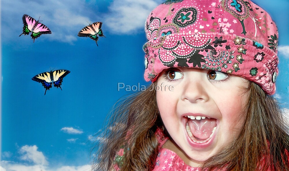 Butterfly surprise by Paola Jofre