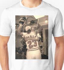Michael Jordan NBA Championship Celebration Unisex T-Shirt