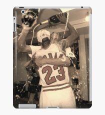 Michael Jordan NBA Championship Celebration iPad Case/Skin
