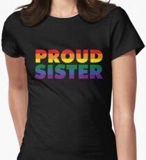 Gay Pride Support Shirt Proud Sister LGBT Shirt T-Shirt