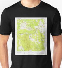 USGS TOPO Map Florida FL Hampton Springs 346553 1954 24000 T-Shirt