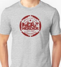 (Completely Unofficial) Star Wars inspired Galactic Nerf Herder Union Local #327 Unisex T-Shirt
