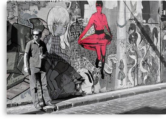 melbourne graffiti -  by Rosina  Lamberti
