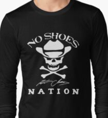 No Shoes Nation Kenny Chesney - New Design Long Sleeve T-Shirt