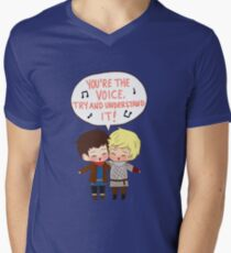 You're the Voice Try and Understand It! Men's V-Neck T-Shirt
