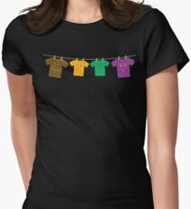 Hanging Tee Family Womens Fitted T-Shirt