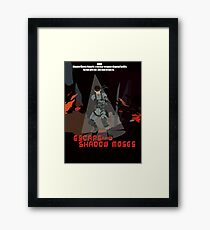 Escape From Shadow Moses Framed Print