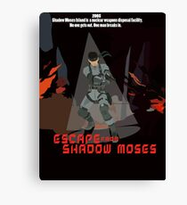 Escape From Shadow Moses Canvas Print