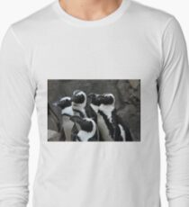 African Black-footed Penguin Long Sleeve T-Shirt