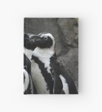 African Black-footed Penguin Hardcover Journal