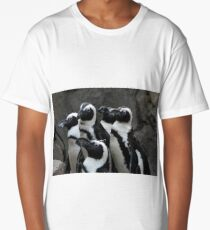 African Black-footed Penguin Long T-Shirt