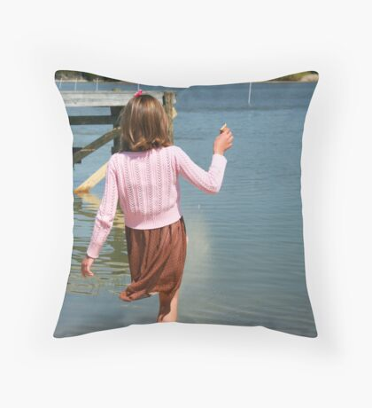 Summer is on the Way Throw Pillow