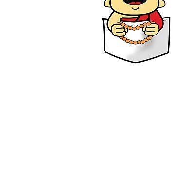 Pocket Buddha by KidCorgi