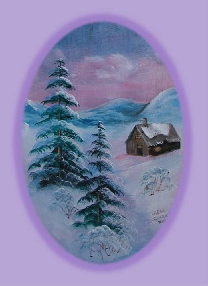 Winter's Solitude by Irene Clarke