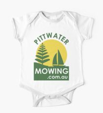 Pittwater Mowing T Shirts One Piece - Short Sleeve